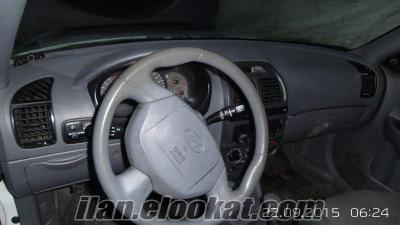 Hyundai aksent 2004 model 17000 tl satılık vade yapılır