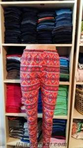 4 tl ye bayan çiçekli pijama altı