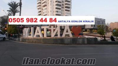 Antalya Günlük & Haftalık Kiralık Daireler, Evler, Apartlar