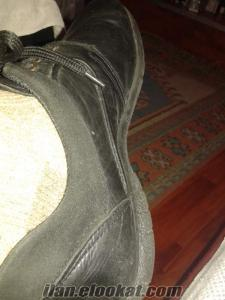 kuzu derisinden erkek ikinci el ayakkabı