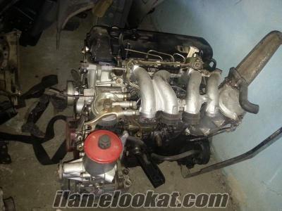 W124 kasa mercedes 601 dizel kople motor