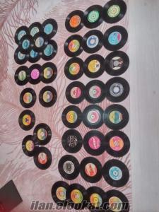 ACİL SATILIK 45 lik piyasada nadir bulunan eski plaklar