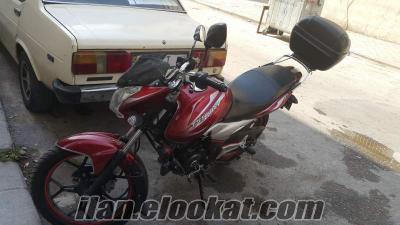 izmirde satılık bajaj diskover 125 ST motosiklet