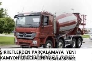 sahibinden parçalanacak yeni kamyon çekici alınır