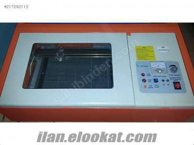 SerasMac Es40 Lazer 2. EL Kaşe Makinesi