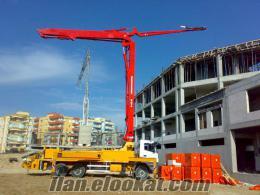 Kocaelide beton pompa operatörü