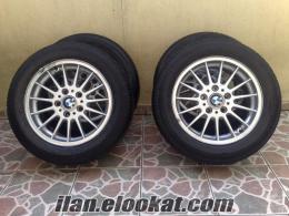 16 İNÇ 5X120 BMW E30 ORJİNAL JANTLARI+LASTİK TAKIM HALİNDE SATILIK
