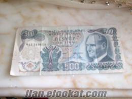 eski para 20 türk lirası
