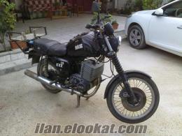 satılık orijinal Alman MZ 251 motorsiklet