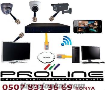 Konya Bina, Apartman, Site, Villa Güvenlik Sistemleri-Kamera Güvenlik Çözümle