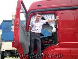 şöför...şehirler arası kamyon römork şöförüyüm iş arıyorum