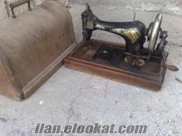 antika singer marka dikiş makinesi