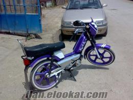 Eskişehirde satılık modifiyeli moped peugeot 103