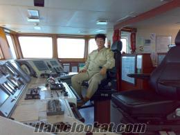 yat kaptanı olarak sürekli iş arıyorum.
