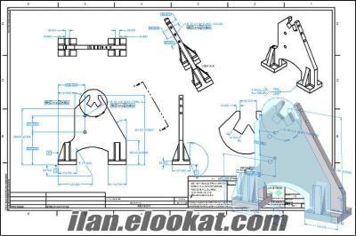 2D ve 3D Teknik Çizim Noktası