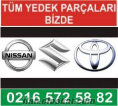 Nissan Toyota Suzuki Yedek Parçaları Bulunur.
