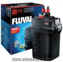 FLUVAL 306 Akvaryum Dış Filtre 1150 L/H--- SIFIR ÜRÜN - 405 TL..