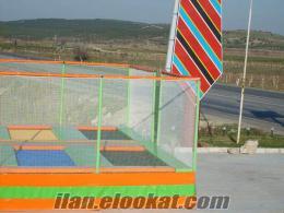4 lü olimpik trambolin