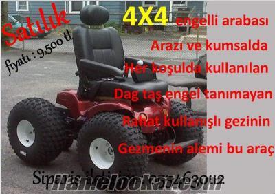 ENGELLİ ARABASI AKÜLÜ 4X4
