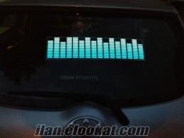 Carqualizer..Işıklı Ekolayzer Araba Sticker...