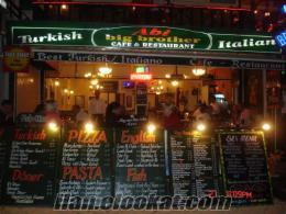 muğla fethiye hisarönü merkezde devren satılık restaurant