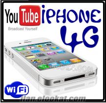 ÇİNMALI İPHONE 4G ÇİFTHATLI -WİFİLİ
