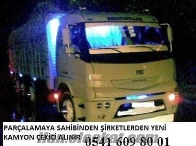 türkiyenin her bölgesinden parçalanacak kamyon alınır