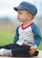 Çocuk giyimi 18 bin adet serili