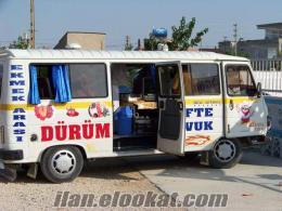 mersin mutta sahibinden satılık seyyar köfte minibüsü