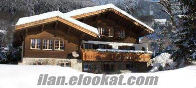 bolu kartalkaya da günlük kiralık lüks dağ evi