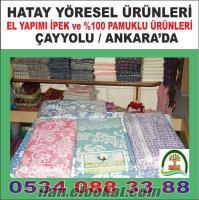 Ankarada ipek ürünler