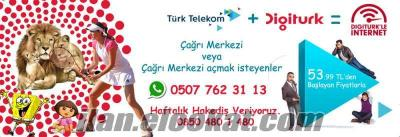 Digitürk+Türk Telekom Çağrı Merkezi Bayiliği