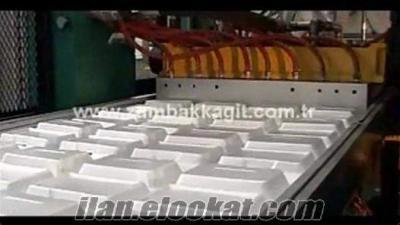 Köpük Bardak ve Köpük Tabak İmalatı için Üretim Hattı: Polistren Köpük Hattı