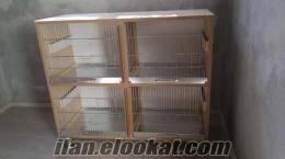 Kanarya ve muhabbet kuşu salma kafesleri