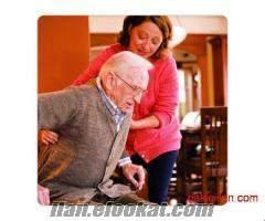 Afyon da hasta bakıcı, bakıcılık, yatılı hasta bakıcı, yaşlı bakıcı , yatılı ya
