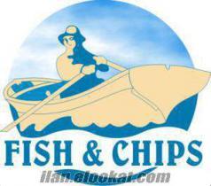 Fish And Chips Fast Food Franchising Verilmektedir