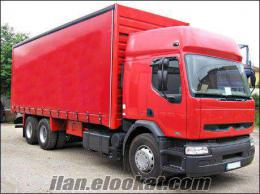 Ataşehirde kiralık kamyon