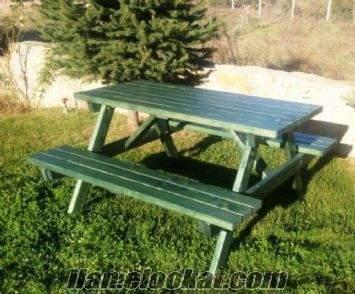 6 kişilik piknik masası