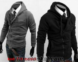 sweat sweatshirt f18 model mont tarzı hırka kazak
