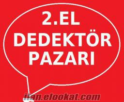 İKİNCİ EL DEDEKTÖR FİYATLARI-DEDEKTÖR PAZARI