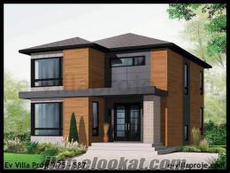 Müstakil Ev VİLLA Yapımı, Villa Projeleri