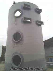 Atık Su Arıtma Havuzları Ctp Polyester Kaplama