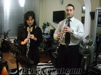 Klarnet Dersi Tür Müziği Konservatuarı Mezunu Hocadan