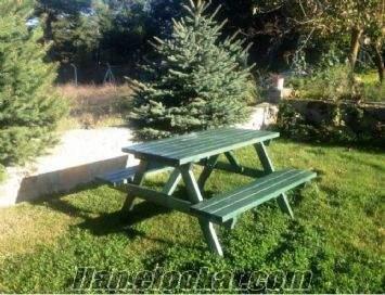 8 kişilik piknik masası