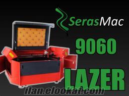 serasmac 9060 lazer kazıma makinesi 60W 90cmX60cm çalışma alanı