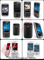 BLACK BERRY 9800 TORCH ..MADE IN KORE...