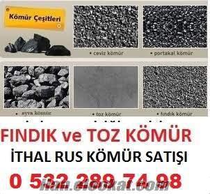 7500 - 8000 kalori SİBİRYA PORTAKAL KÖMÜR toptan fiyatları