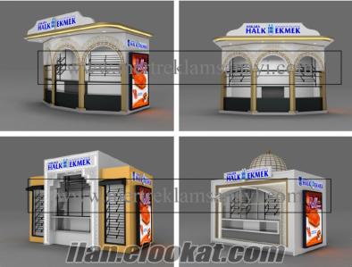 Fast Food Kiosk Outdoor Kiosk