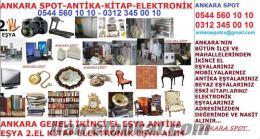 ANKARADA ETLİK, KEÇİÖREN, 2.EL EŞYA ALIM SATIMI SPOT