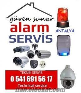antalya alarm sistemleri arıza satış servis
